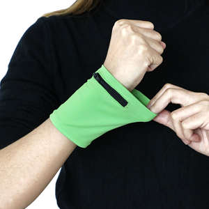 Free Sample New Arrival Running Sport Gym Wrist Wallet
