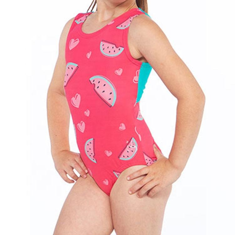 Newest Sublimation Spandex Lycra Custom Girls Gymnastic Leotards