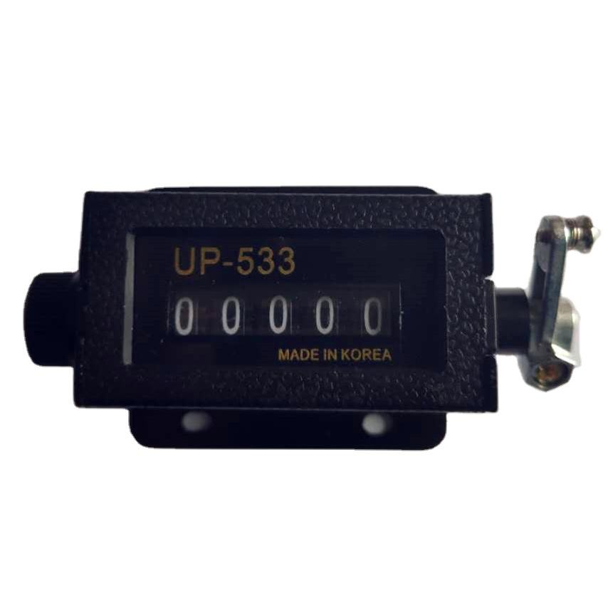 UP533 stroke counter, mechanical machine use