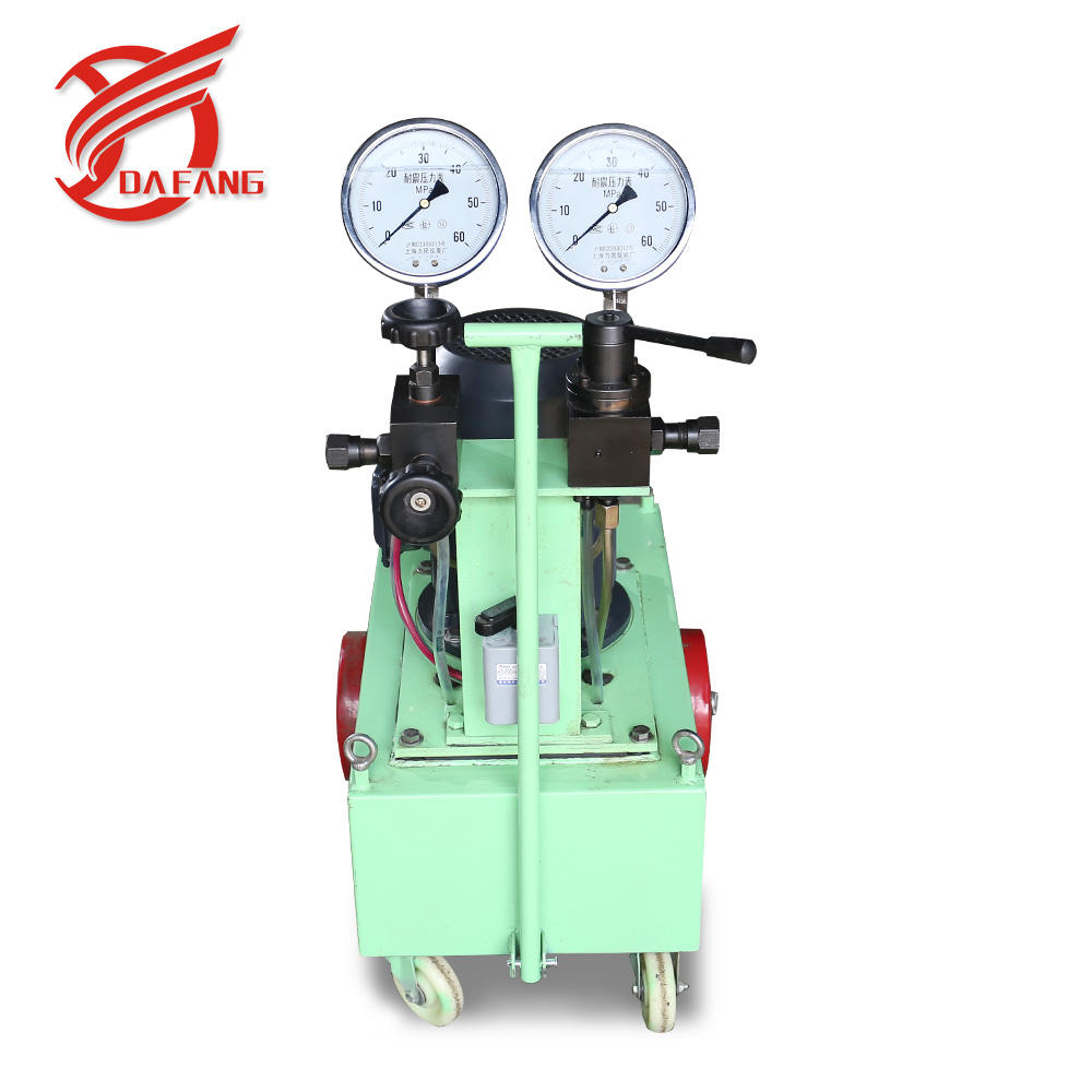 electric driven prestressed equipment 120kg hydraulic ram pump machine
