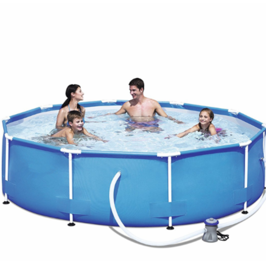 Bestway 56260 Family summer swimming pool metal frame swimming pool collapsible pool for sale