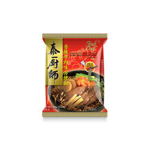 Thai Chef Brand Instant Oriental Noodle Soup Stewed Beef with Pepper Flavour 100g