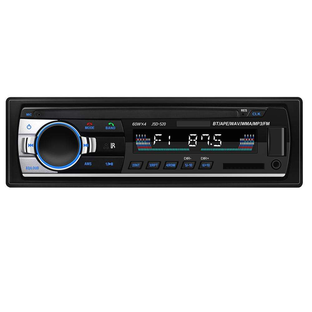 1DIN In-Dash Car Radio Stereo Digitale di Controllo Remoto Bluetooth Audio Stereo di Musica 12V <span class=keywords><strong>USB</strong></span>/SD/AUX-IN Auto Radio <span class=keywords><strong>Lettore</strong></span> Mp3