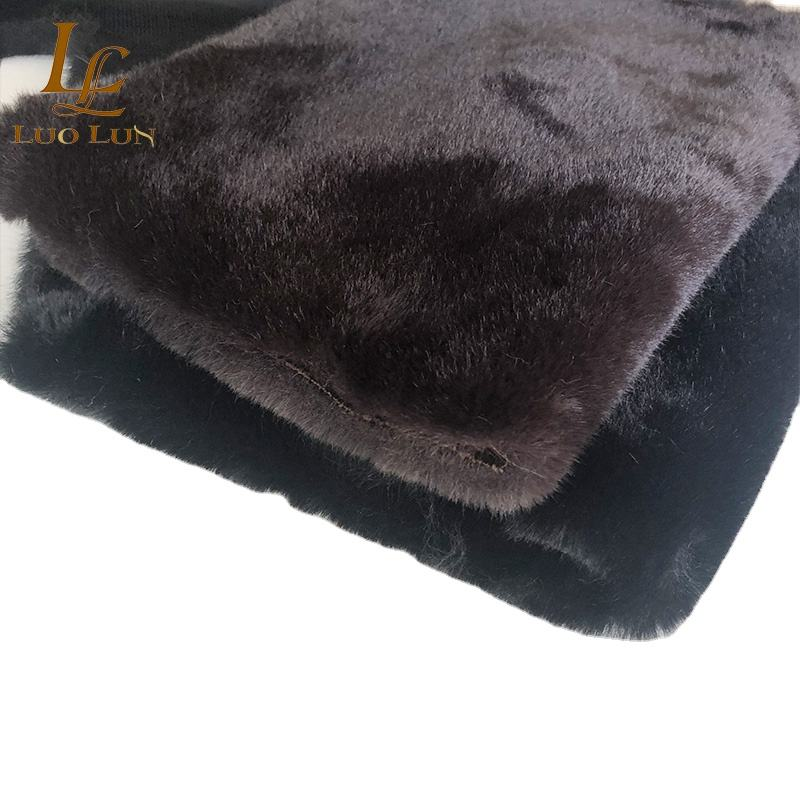 160cm stock Faux Fur Fabric Plush Soft for coat Cheap Many Colors Available Soft Faux Rabbit Fur Fabric Artificial Fur Fabric r