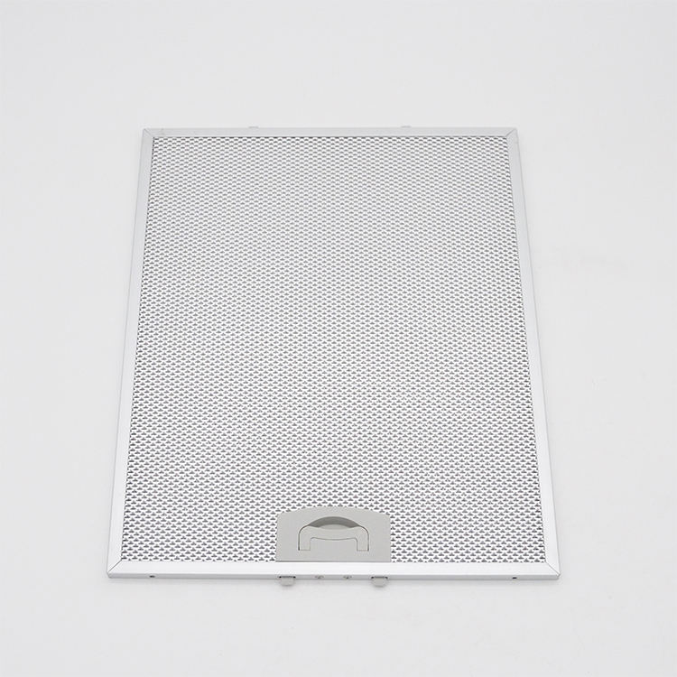 Cooker Hoods Filter Mesh Aluminium European Hoods Accessories Grease Filter 5 Layers Customization Specialty