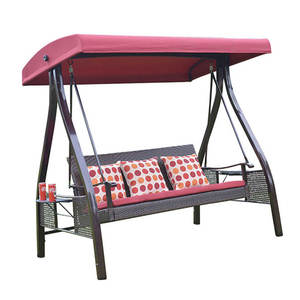 Outdoor Patio 3 Seater Stand Children Kids Swing Canopy Hammock Chair Bed for Sale
