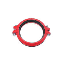 AWWA C606 Ductile iron red color cast iron pipe fittings Flexible Coupler style