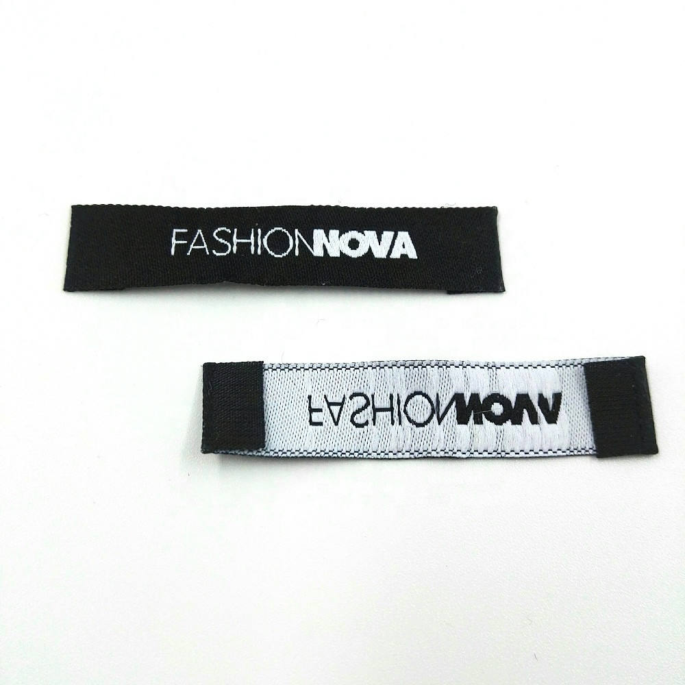 Fashion Customized Sewing Labels Shirt Bags Garment Label Tag Woven Labels for Clothes