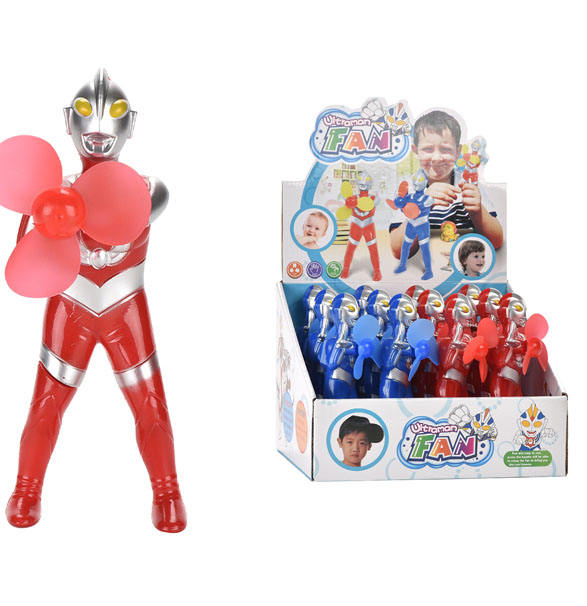 Handheld Fan Ultraman Holding Fan (12 Stuks) Draagbare Mini Handheld Battery Operated Fan <span class=keywords><strong>Speelgoed</strong></span> <span class=keywords><strong>Fabrikanten</strong></span> In China