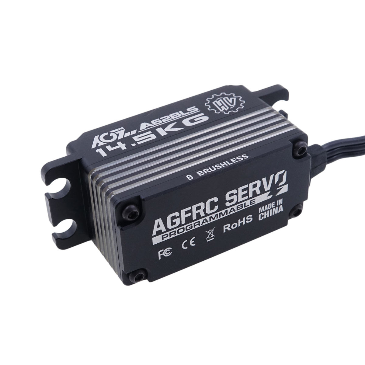High quality AGFRC A62BLS Full CNC Servo-metal Brushless rc servo