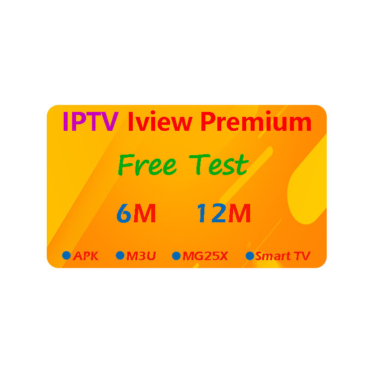 Iview Premium IPTV support Smart TV M3U Android TV Box Fire Stick