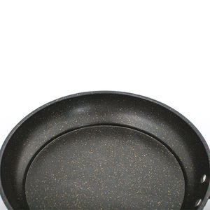 Professional Health Carbon Steel Non-stick Cookware Wooden Long Handle Fry Pan