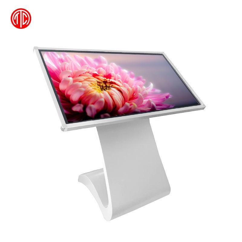 Shenzhen windows versione da tavolo totem interattivo multi touch screen <span class=keywords><strong>lcd</strong></span> pubblicità floor stand digital signage chiosco