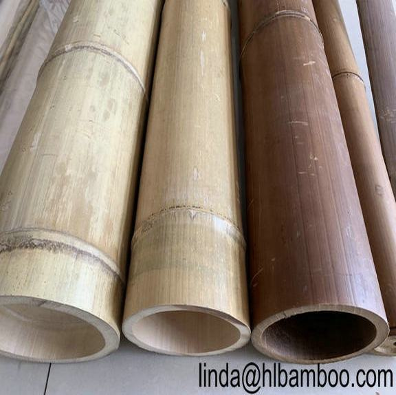 natural Eco-friendly moso Bamboo pole cane pile post support deadman decoration construction building materials spiling