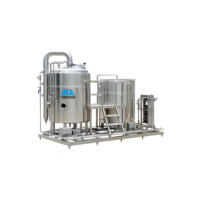 1000L Beer Brewing Equipment Turnkey Automatic Brewery Electric Herms/Brewing Machine Dimple Jacket Fermentation System