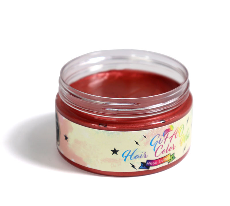 Fashion exclusive 7 Color temporary dye cream hair color wax