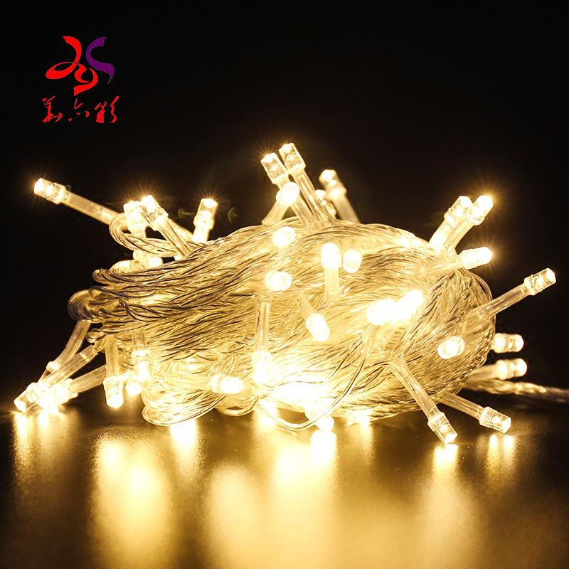 Outdoor waterproof IP65 LED string lights for Christmas new year holiday decorations