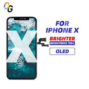 OGX AMOLED screen for iphone X LCD display wholesale for iphone 5 6 8 X lcd screens replacement for iphone 6 7 8 X 11display lcd