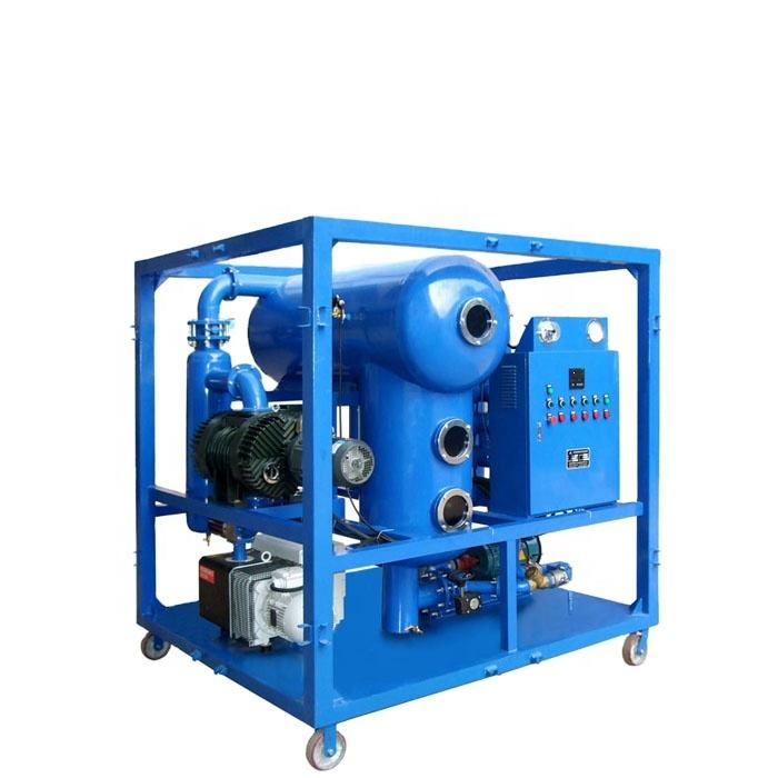 waste insulating oil purifier equipment used transformer oil purification machine