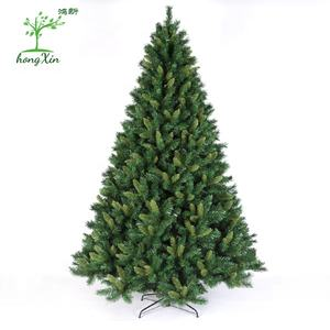 2020 Classic Factory price 6ft/7ft/8ft Large Artifical Full PVC Xmas Decoration Tree