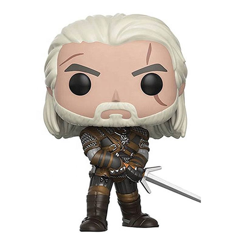 GERALT CIRI YENNEFER The Witcher 3 FUNKO POP 149 150 kids toys Wild Hunt Action Figures Doll Toys for Collection wholesale