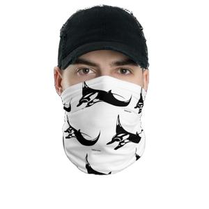 Breathable Colorfast Soft Touch Dry Fit Multifunctional Ice Silk Cooling Neck Gaiter Scarf Bandana Printing Custom Logo