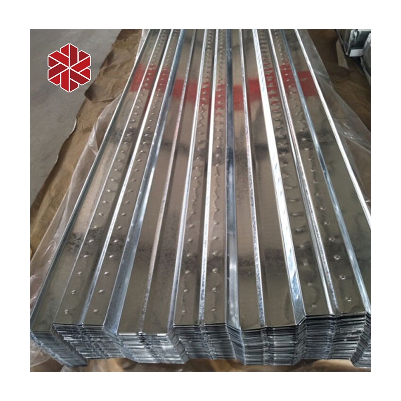 hot sale building material galvanized cold rolled steel floor decking steel metal sheet placa colaborante acero deck