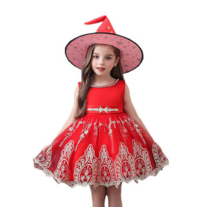 752 Designer Dresses Online kids Evening Gowns Sleeveless Birthday Party Sleeveless Birthday Party