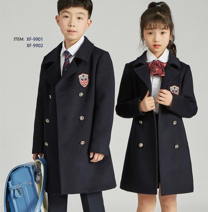 High- school uniforms jacket factory for boys and girls