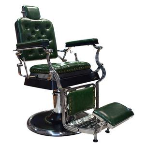 High-quality salon equipment selling old-fashioned second-hand barber chair new style classic barber chair