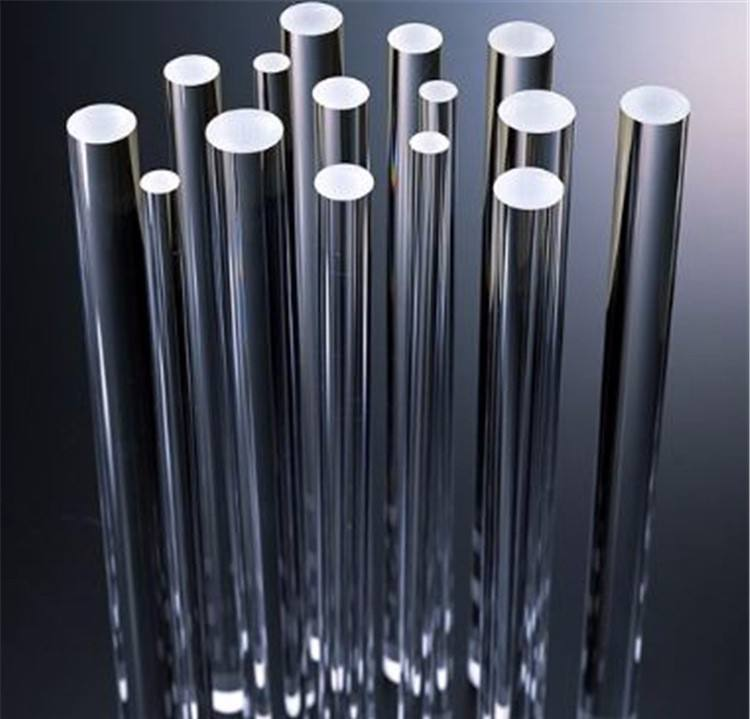 High Purity Polishing Clear Heating Quartz Rods