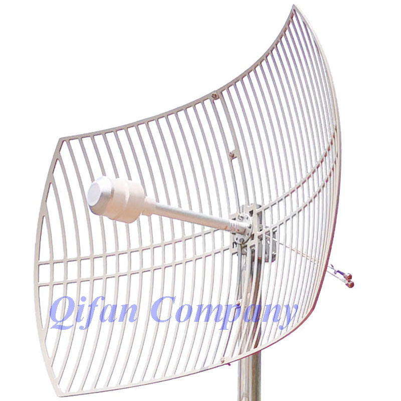 3G 4G LTE Parabolic Grid antenna 1700-2700MHz Outdoor Antenna 2X24dBi External ultra long distance Antenna with 2x N female