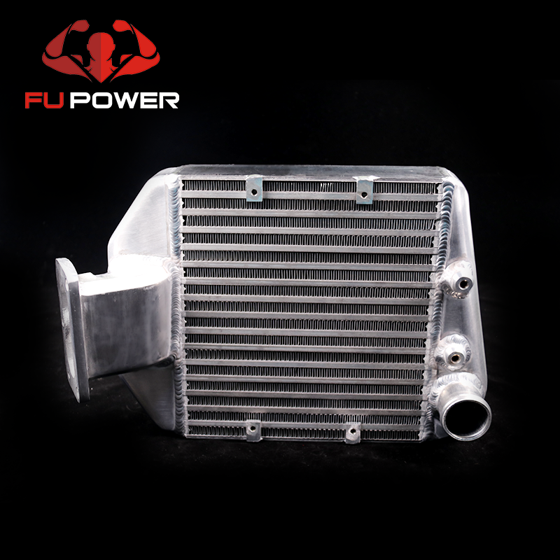Performance Aluminum Top Mount Intercooler Kit for Toyota Landcruiser 80 Turbo Diesel 1HDFT 4.2L 24V