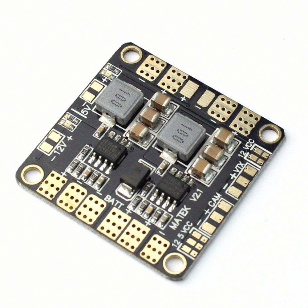 Mini Power Hub Power Distribution Board <span class=keywords><strong>Pdb</strong></span> Board Met Bec 5V & 12V Voor Fpv QAV250 ZMR250 Multicopter quadcopter F16892