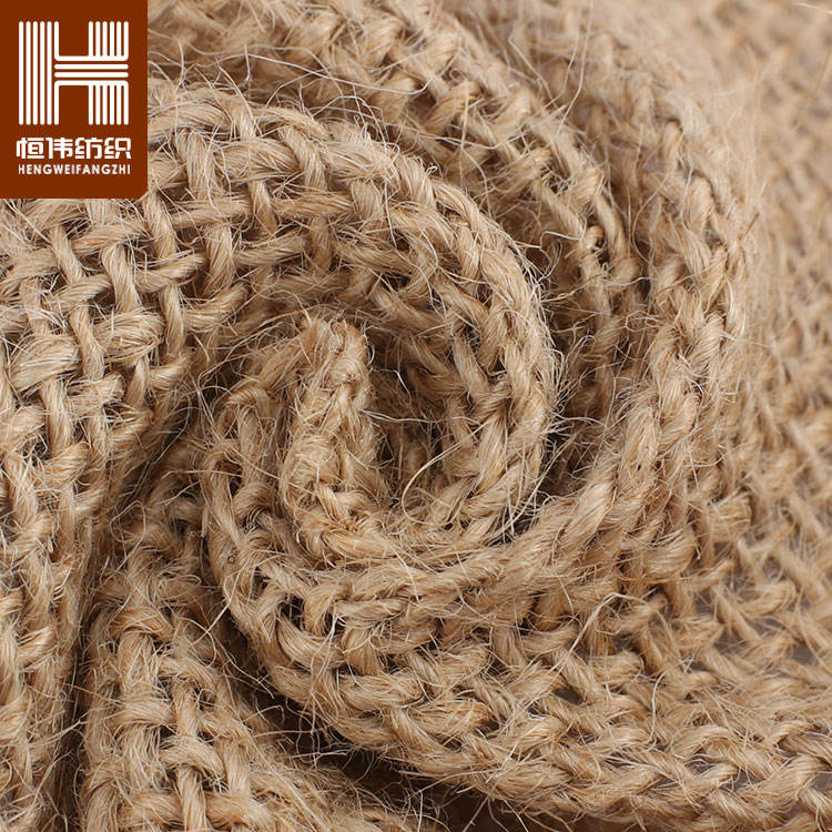 Wholesale Fabric Jute Cheapest Hessian Woven Burlap 100% Jute Fabric Roll for Bags