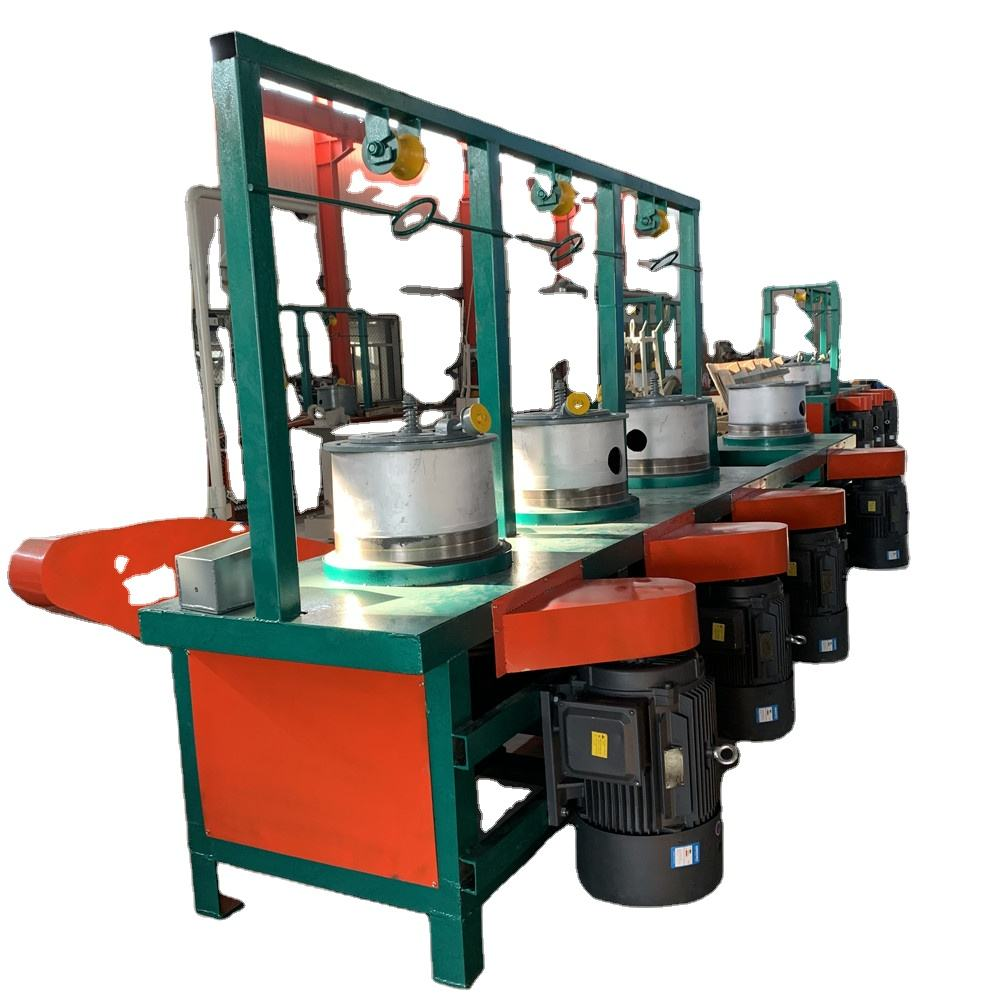 continuous pulley combined wire drawing machine with low factory price