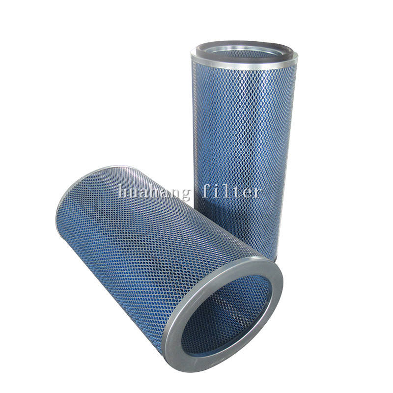 Flame Retardant Elliptical filter element gas turbine dust removal air inlet filter P191281