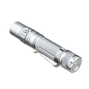 Multifungsi Aluminium Senter Isi Ulang LED Torch Lampu Portable Outdoor Lampu Penerangan