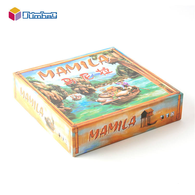 Acrylic activity intelligence kids board games