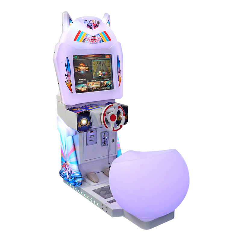 Kids car racing game video game machine kids game for sales