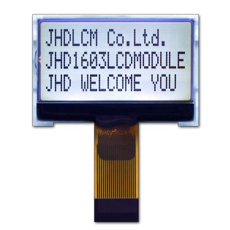 Factory Production Small Lcd 1.5 Inch Interface Lcd Display JHD1603-G13BTW-G
