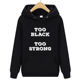 Hoody Women Fashion Round Collar Long-sleeved Print Female Sweatshirt Casual Loose bf Lazy Wind Black Hoody