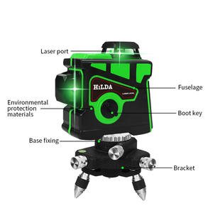 Lazer Level Green Beam Laser Cross 12 Lijn Zelfnivellerende 3d Auto Rotary Bouw Nivel Laser Level 360 Graden Machine tool