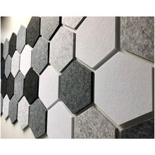 Customized  Polyester Felt Fabric Acoustic Panel for Indoor Decoration Wall Board
