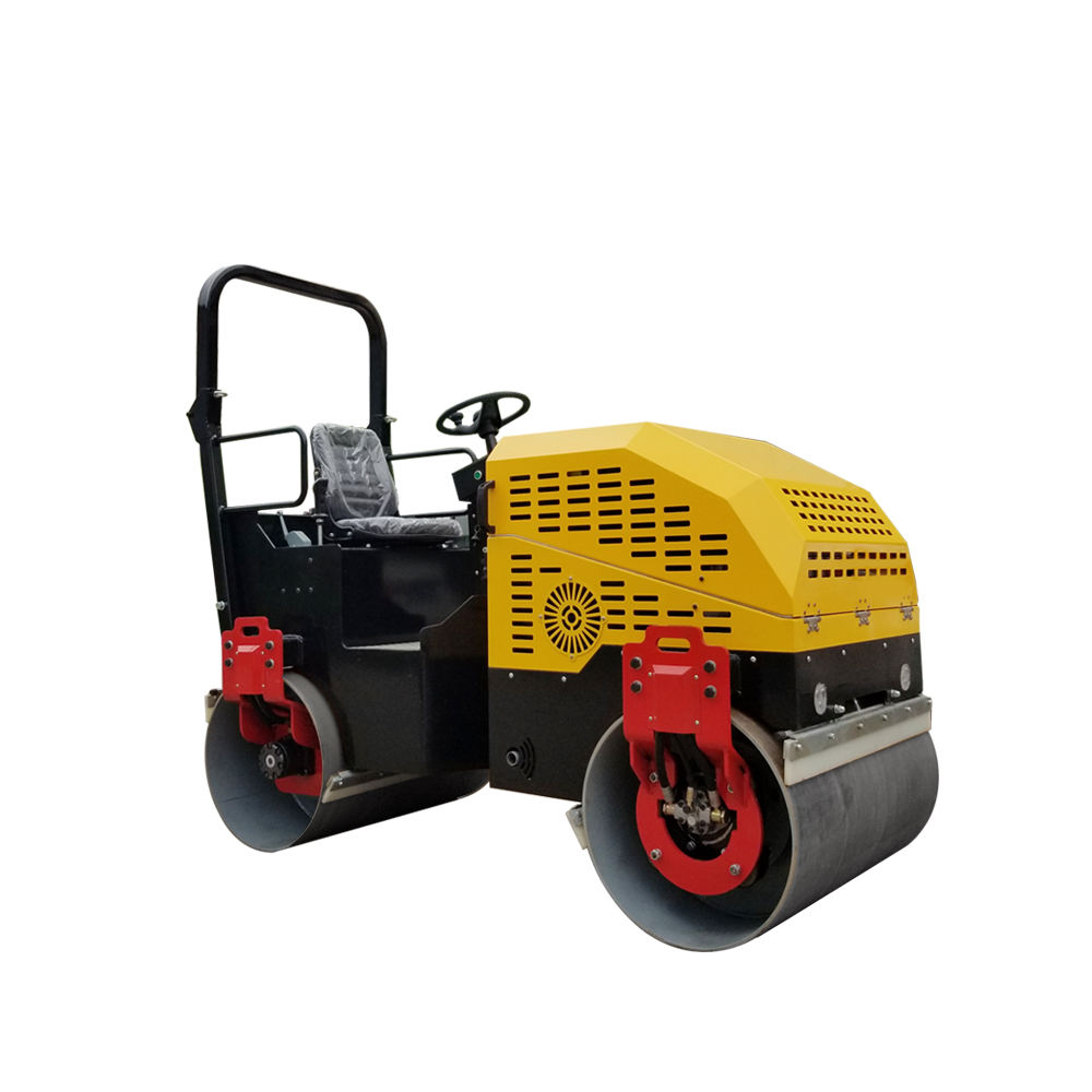 Diesel engine 1 ton 2 ton 3 ton compactor road roller construction machinery vibratory asphalt roller price