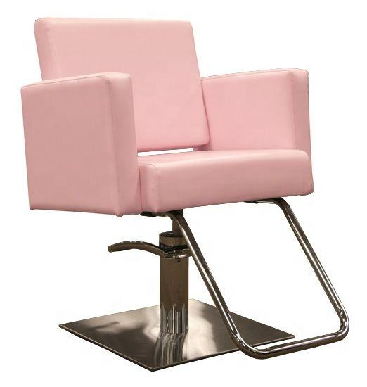 new beauty pink salon chairs hair styling chair