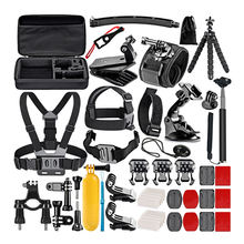 Aliexpress Ebay Hot Selling Essential Other action Camera Accessories 50 in 1 kit