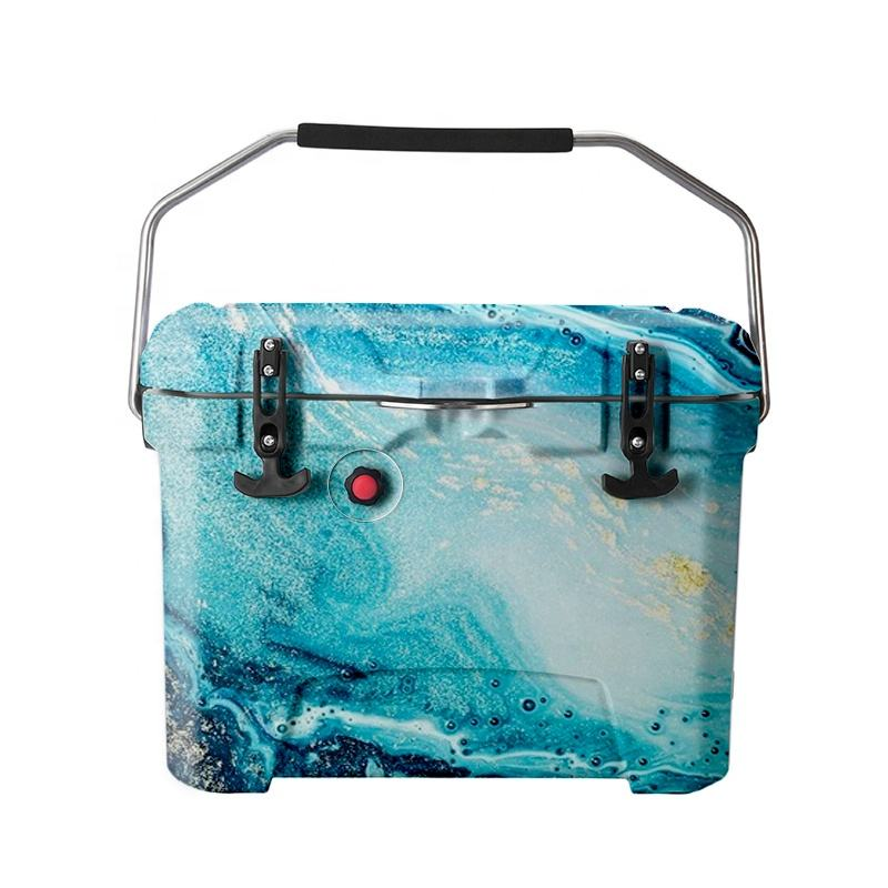Wholesale 20L 50L 75L 110L everich insulated rotomolded hand carry plastic cooler box for fishing rotomolded cooler