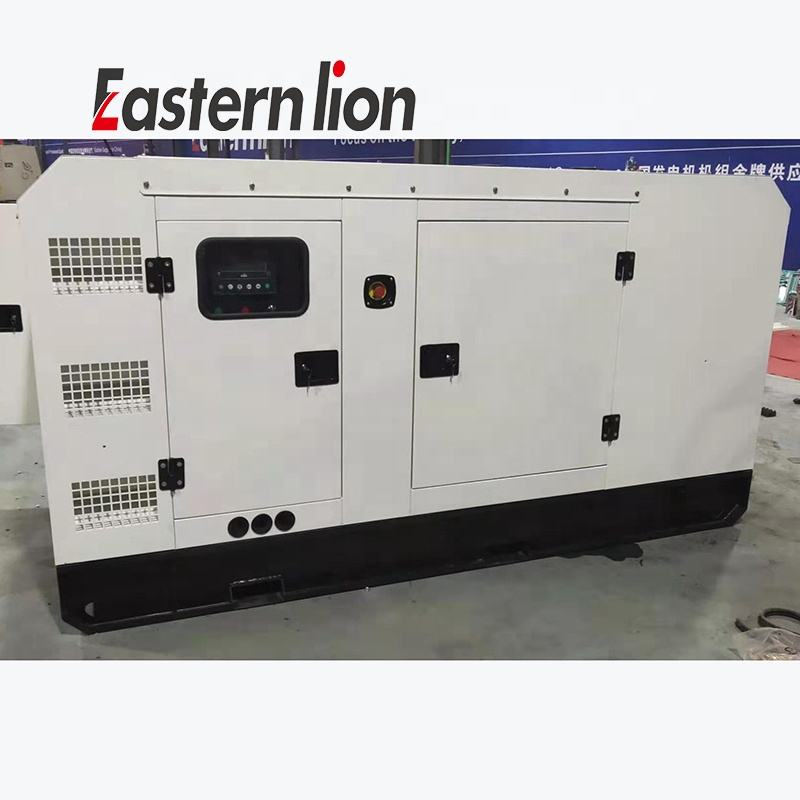Easternlion 50 kva generator 40kw 50kva Designed by denyo 3phase brushless alternator water cooled silent diesel generator price