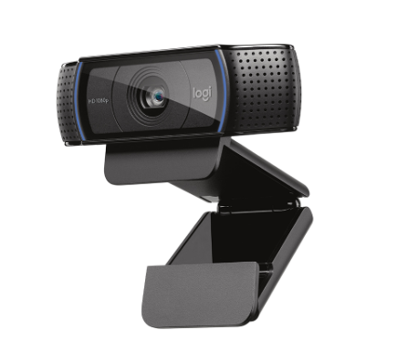 100% Genuine 78 Degrees Wide Angle Logitech C920 HD Pro Business Webcam up to 1080 Pixels